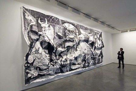 Javier Arce en la galería Max Estrella